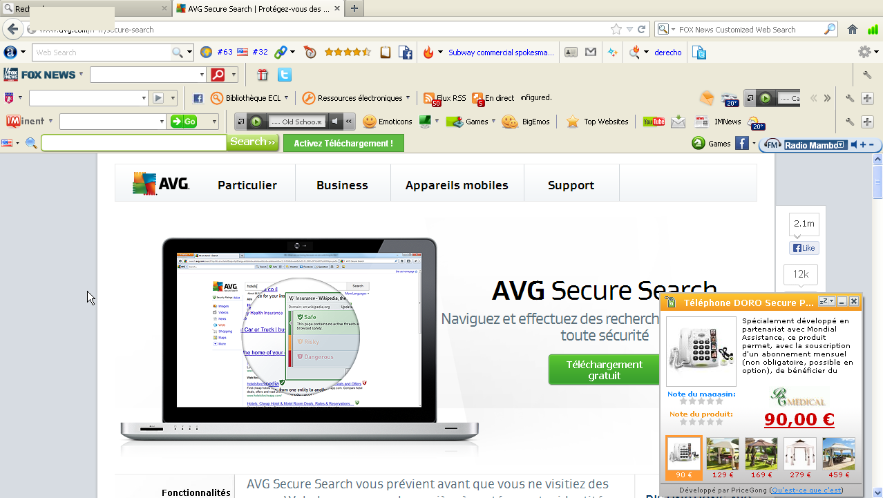 pages toolabr avast